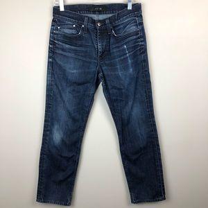 Joe's Jeans Dark Wash Mid-Rise Straight Leg 29